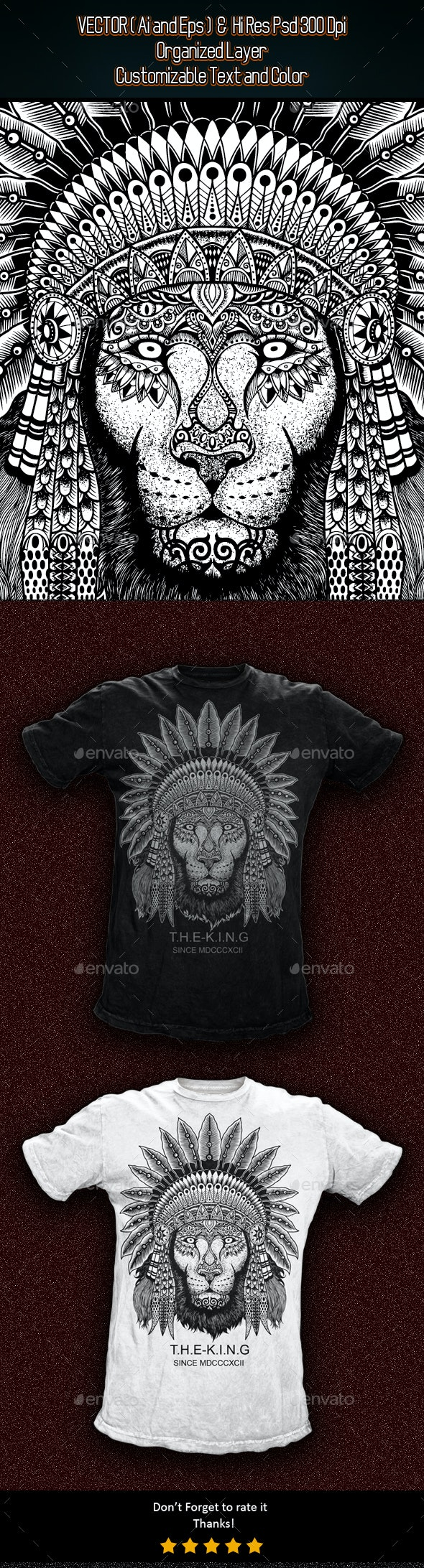 The King - Grunge Designs