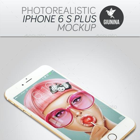 iPhone 6 S Plus Photorealistic Mockup