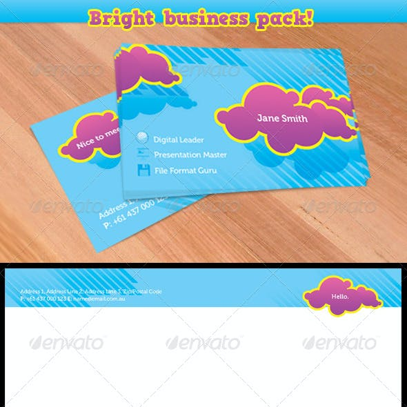Bright Business Stationary