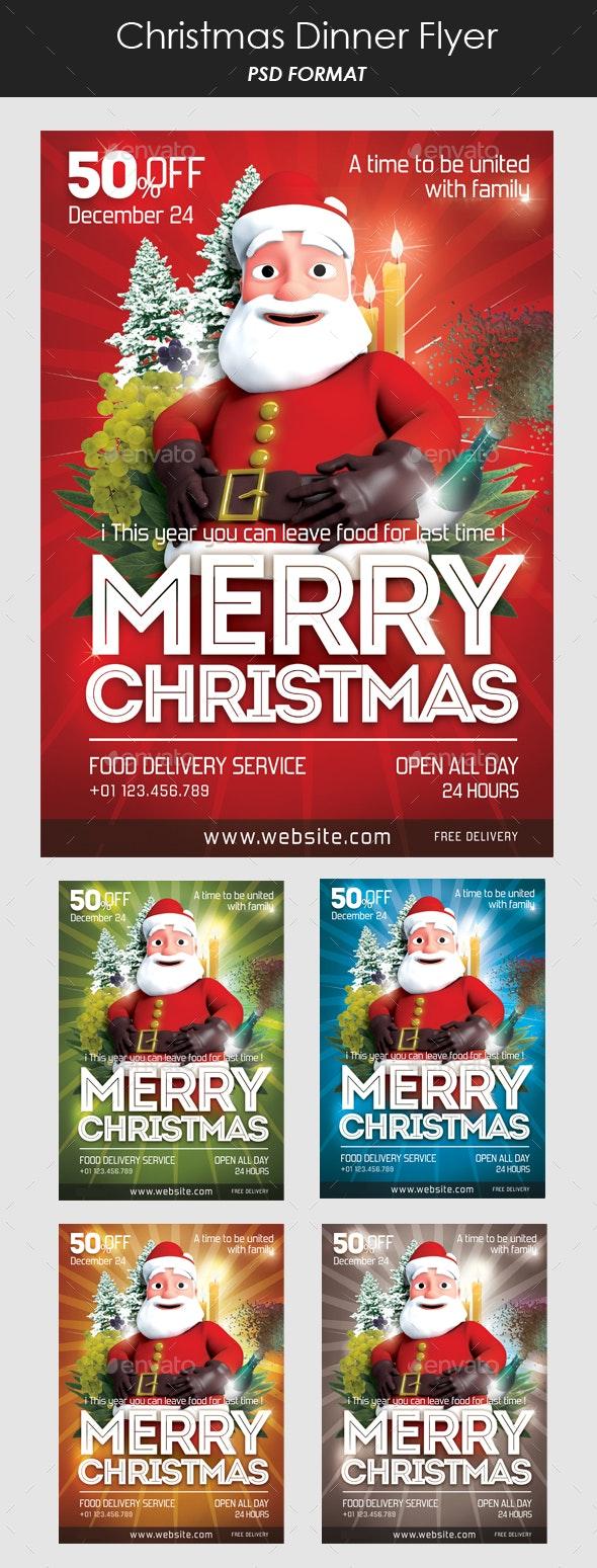 Christmas Santa Claus Flyer - Holidays Events