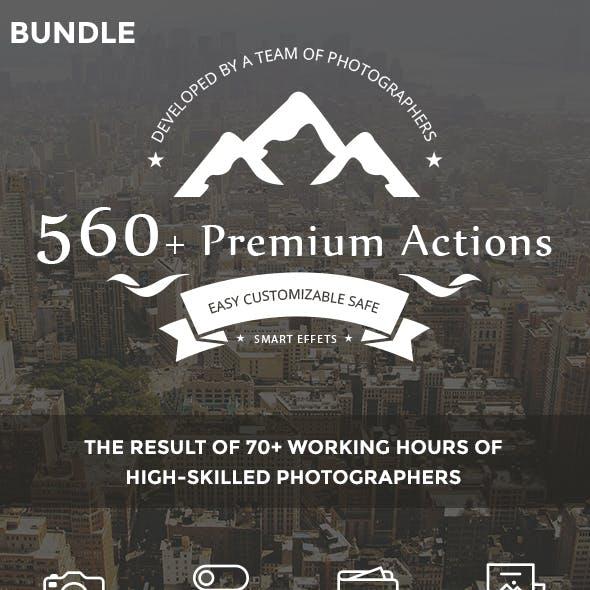 560+ Premium Actions