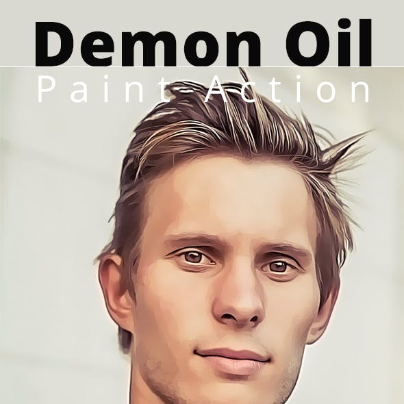 Demon Oil Paint Action