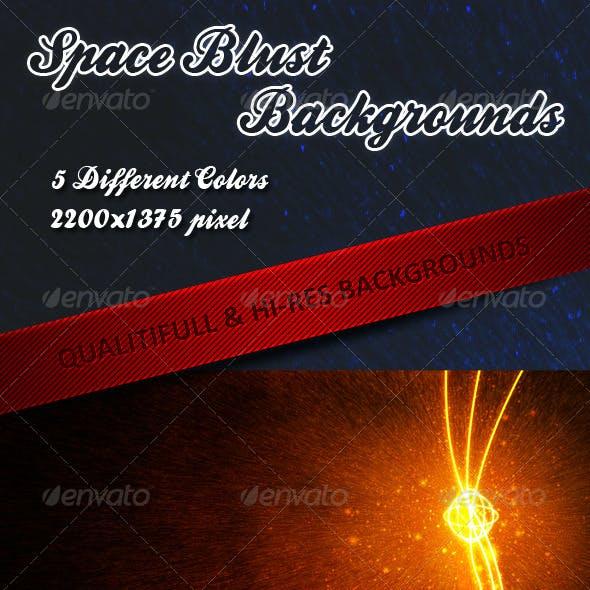 Space Blust Background