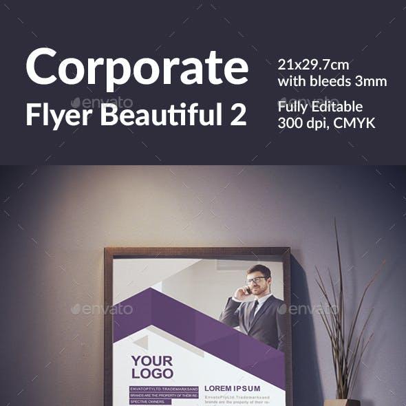 Corporate Flyer Beautiful 2