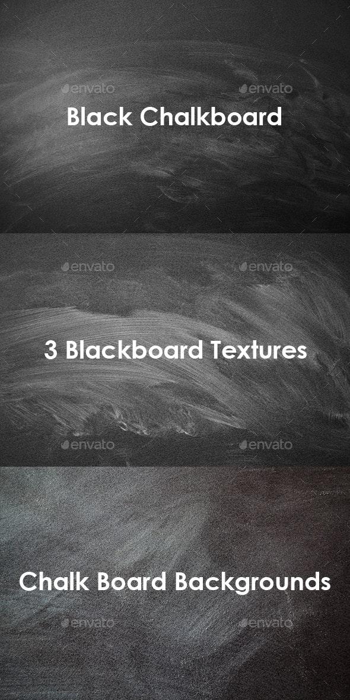 Black Chalkboard - Miscellaneous Textures