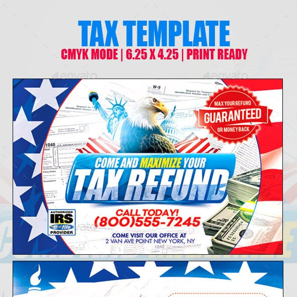 Tax Return template
