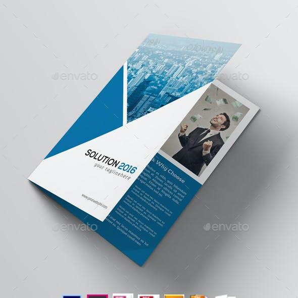Business Solution 2016   Corporate Brochure