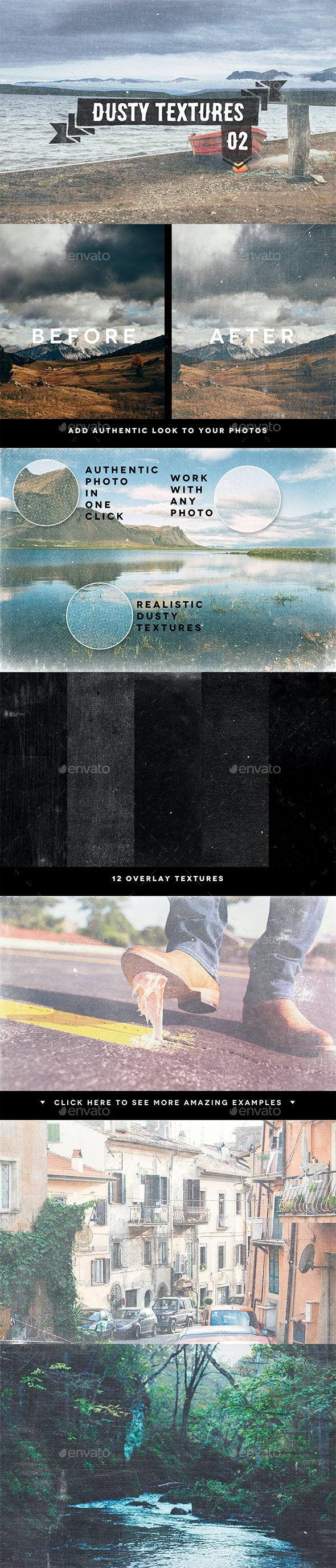 Dusty Overlay Textures Vol. 02 - Art Textures