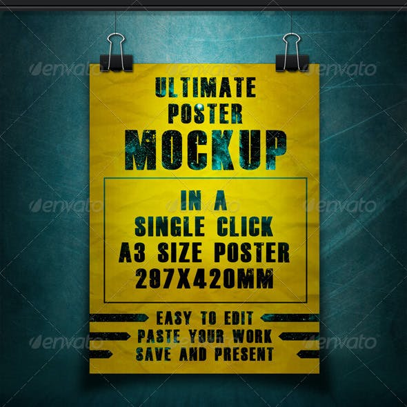 Ultimate Poster Mockup Pack -1