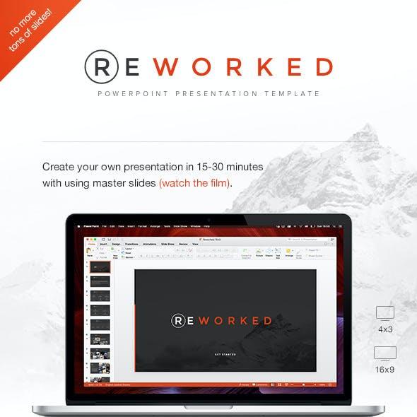 Reworked PowerPoint Presentation Template