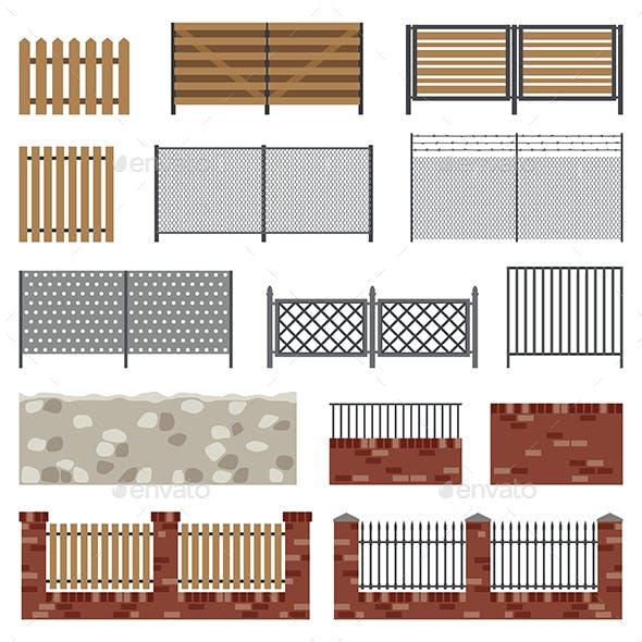Simple Flat Fences