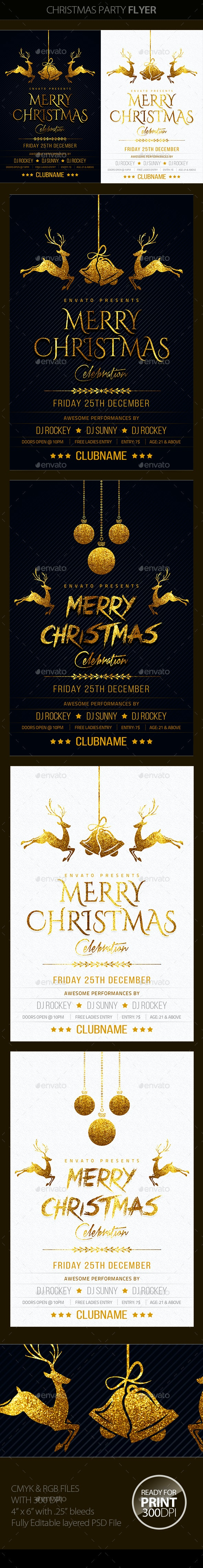 Christmas Party - Holidays Events