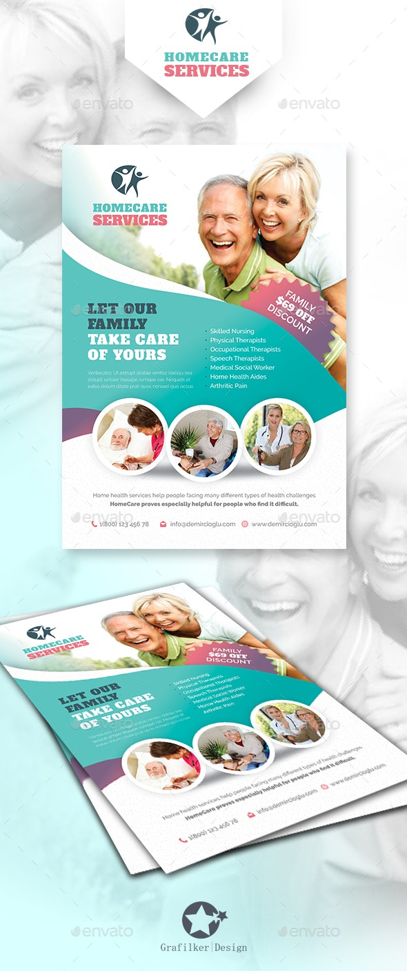 Home Care Flyer Templates - Corporate Flyers