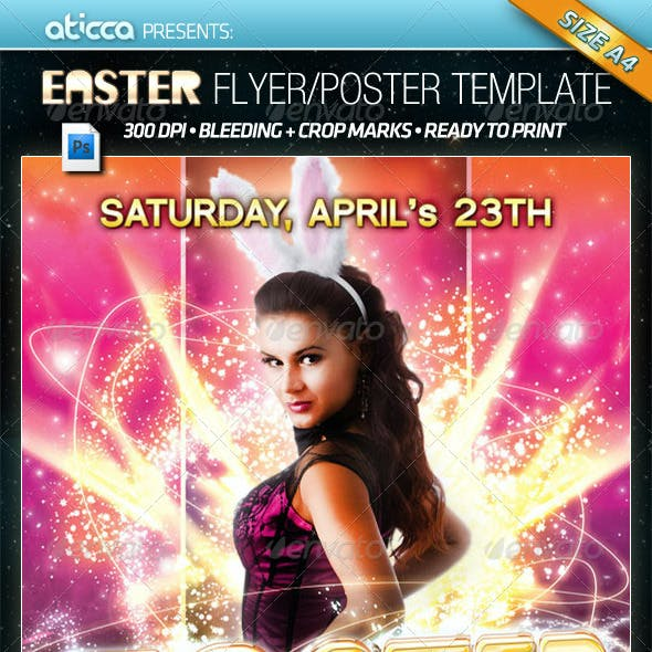 Easter Party - Poster & Flyer Template