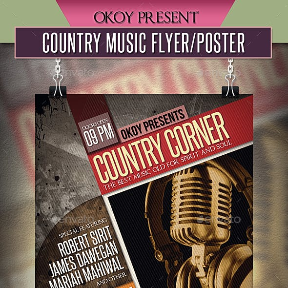 Country Music Flyer / Poster