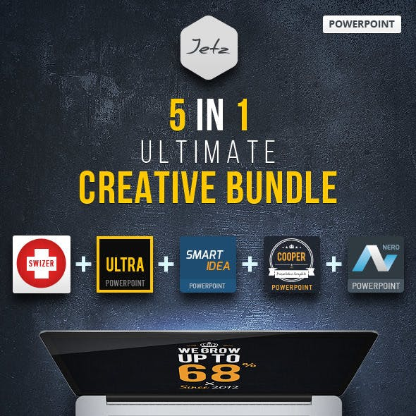 5 in 1 PowerPoint Creative Bundle