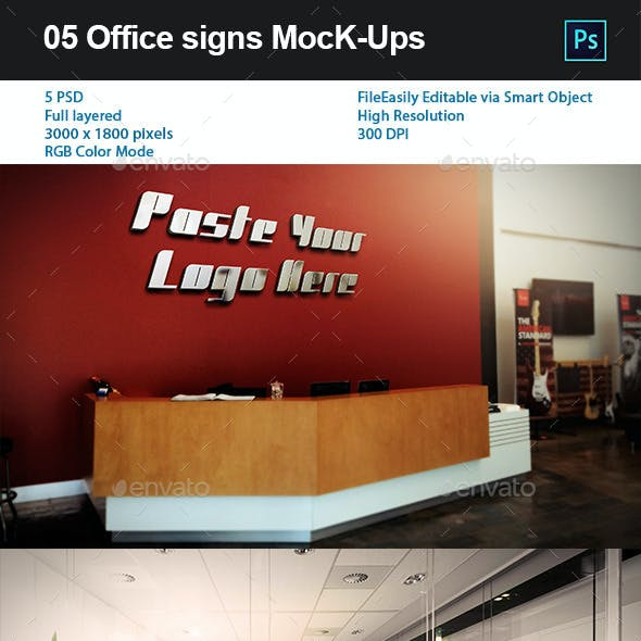 05 Office signs MocK-Ups