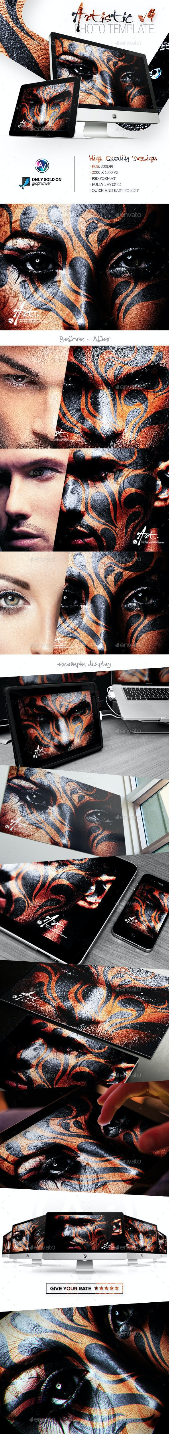 Artistic Photo Template V5 - Artistic Photo Templates