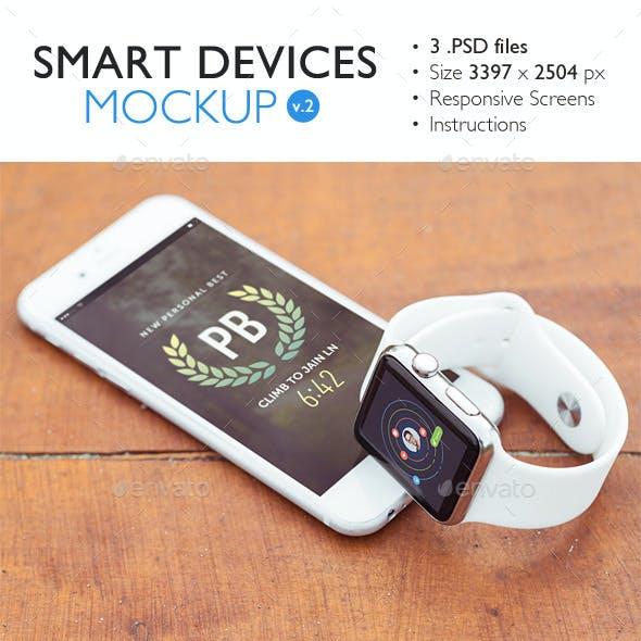 Smart Devices Mockup v.2