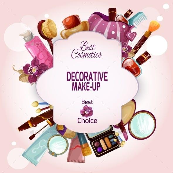 Make-up Concept Illustration