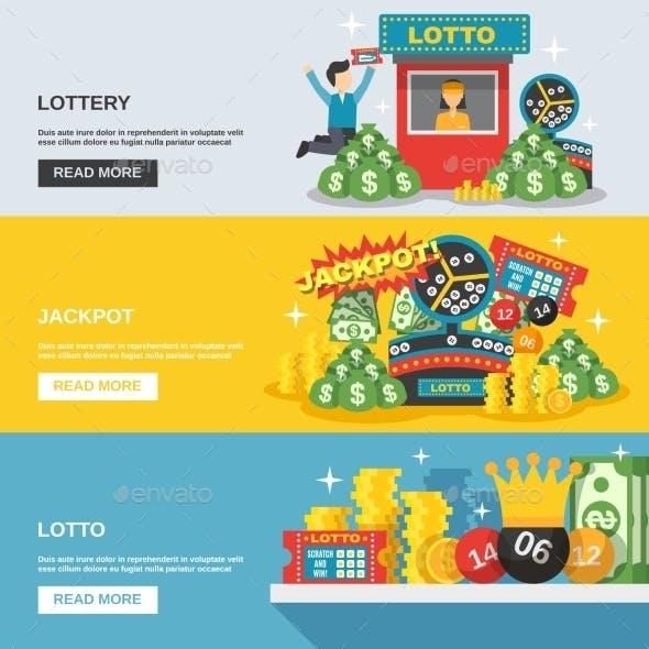 Lottery Banner Set