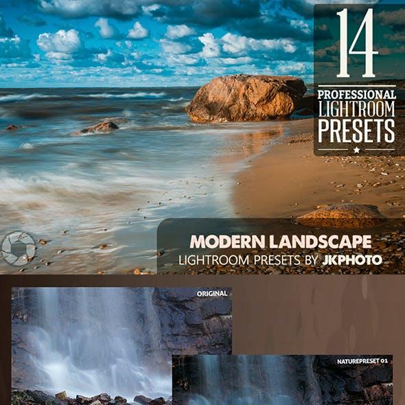 14 Modern Landscape Lightroom Presets