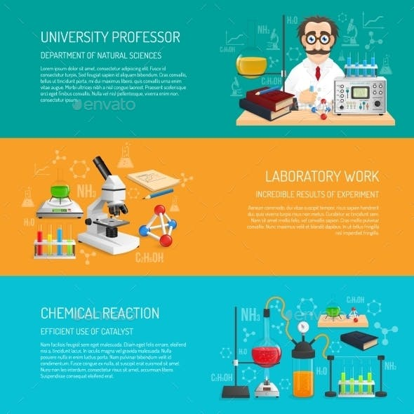 Science Banner Horizontal