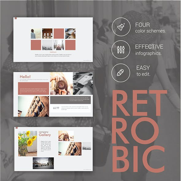 Retrobic PowerPoint Template