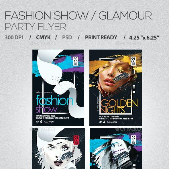 Fashion Show / Glamour Flyer