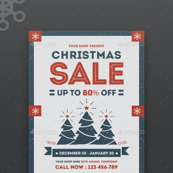 Flyer Christmas Sale
