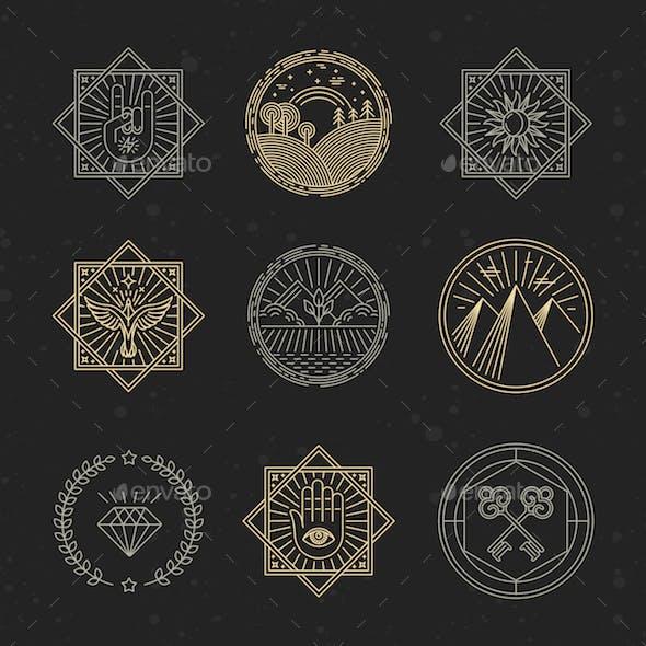Linear Emblems
