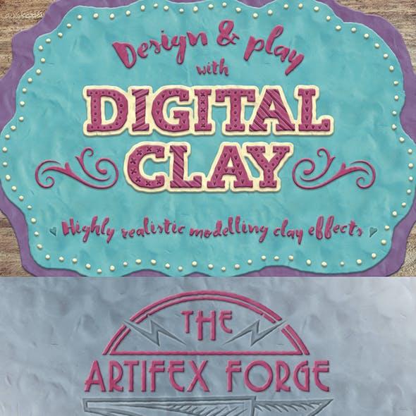 Digital Clay- Layer Styles