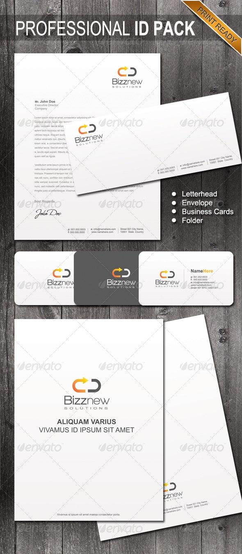 Professional Identity 02 - Stationery Print Templates