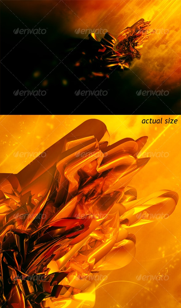 Abstract Magma - Backgrounds Graphics
