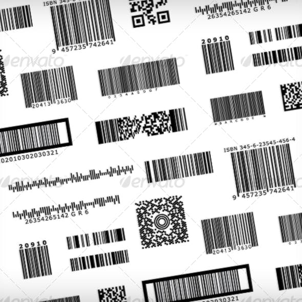Barcode Samples - Bar code symbols