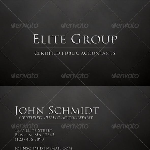 Classy Business Card