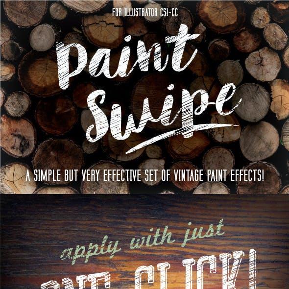 Paint Swipe Graphic Styles