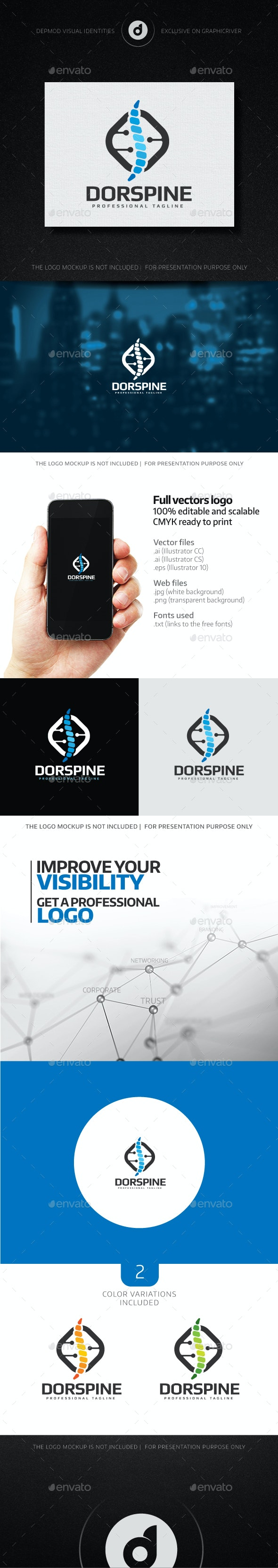 Dorspine Logo - Humans Logo Templates