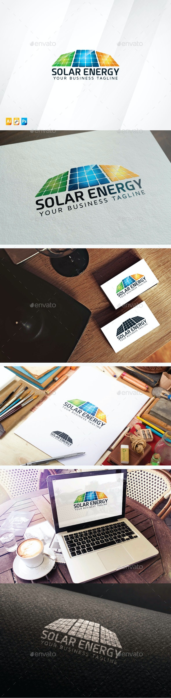 Solar Energy - Objects Logo Templates