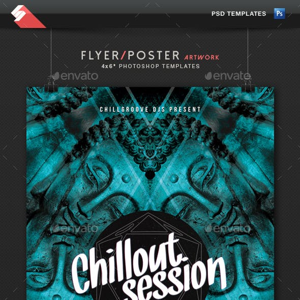 Chillout Session - Event Flyer Artwork Template