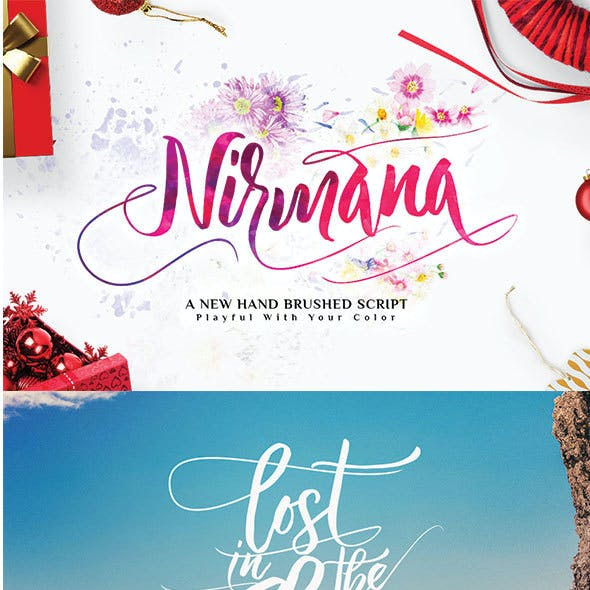 Nirmana Typeface