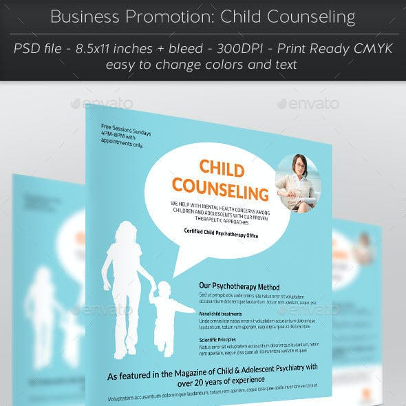 Business Promotion: Child Counseling