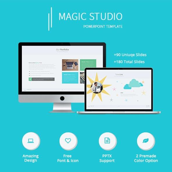 Magic Studio - Creative Powerpoint Template