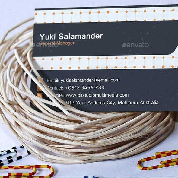 Business Card Mock-Up V.6