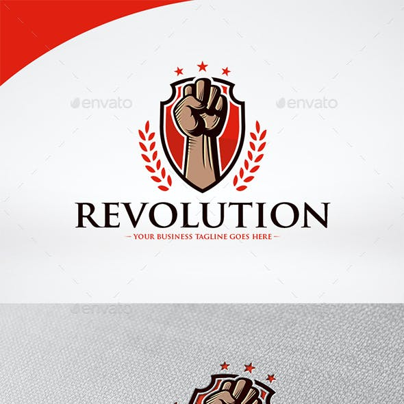 Revolution Crest Logo Template