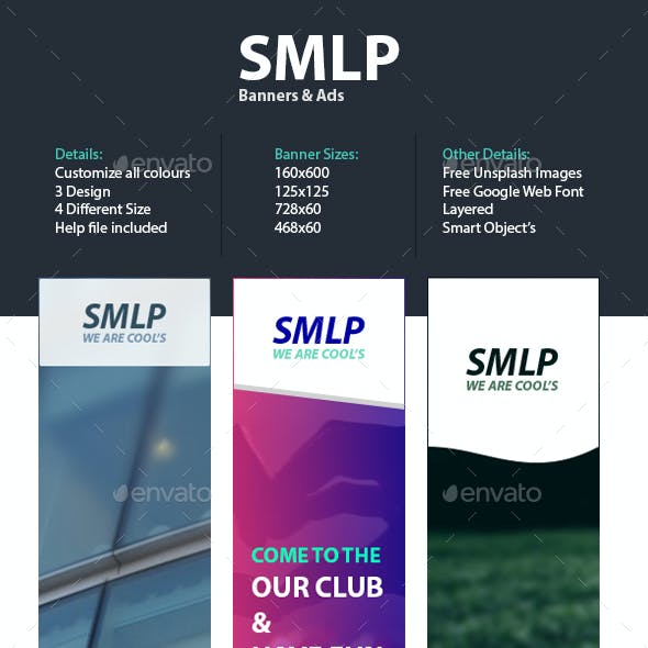 SMLP - Web Banner Template