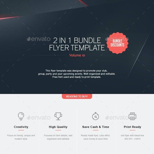 2 in 1 - Flyer Bundle V.10
