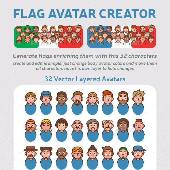 Avatar Creator Graphics, Designs & Templates from GraphicRiver