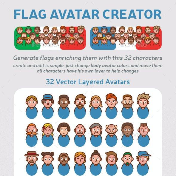 Flag Avatar Creator