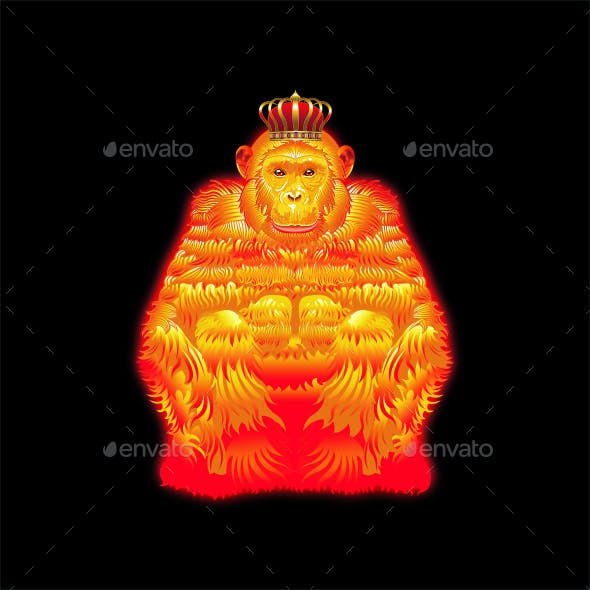 Fire Queen Monkeys